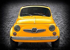 Steyr-Puch 500 in geel