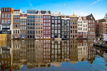 Smalle huizen in Amsterdam van Emrah Senel