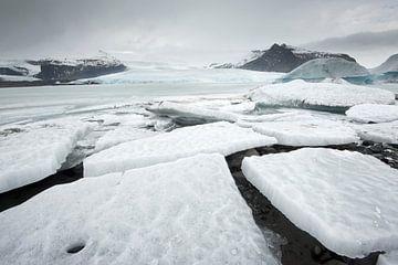 ijsschoten in Fjallsarlon von René Wolters