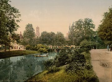 Maliesingel Knuppelbrug, Utrecht sur Vintage Afbeeldingen