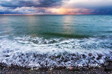 Oostzee van bovenaf van Daniela Beyer