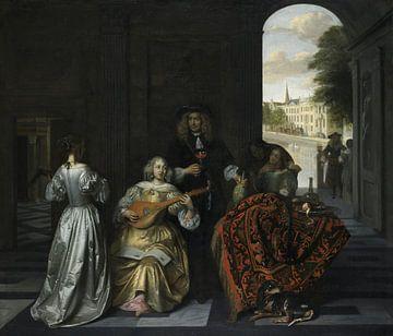 Eine Musik-Party, Pieter de Hooch