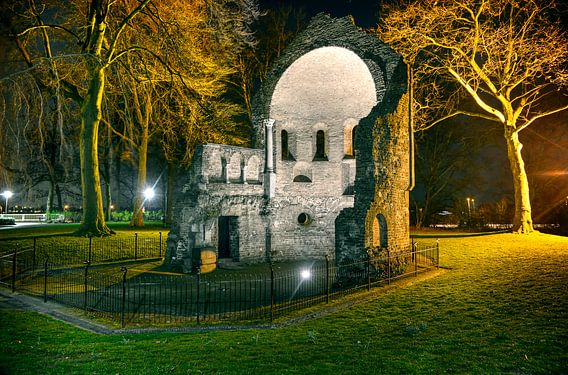 Barbarossa-ruïne, Nijmegen van Fotografie Arthur van Leeuwen