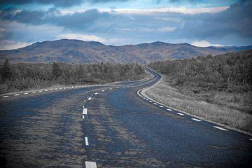 Die Straße ist nicht mehr weit..... von Marc Hollenberg