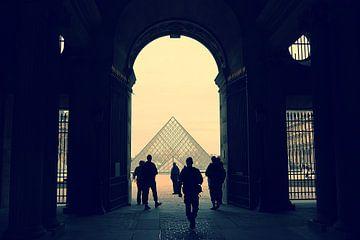 Louvre, Parijs van Remy De Milde