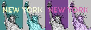 POP ART Freiheitsstatue | New York New York | Panorama