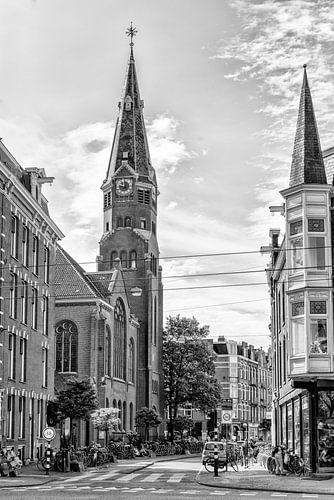 De Oranjekerk in Amsterdam van Don Fonzarelli