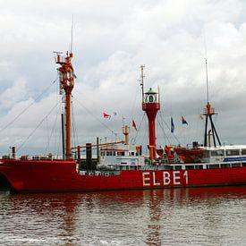 Feuerschiff Elbe 1 von Christiane Schulze