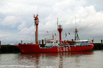Lichtschip Elbe 1 van Christiane Schulze