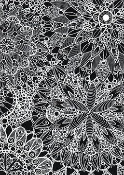 Zen Mandala Muster von ZeichenbloQ