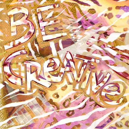 Be creative van Eva van den Hamsvoort