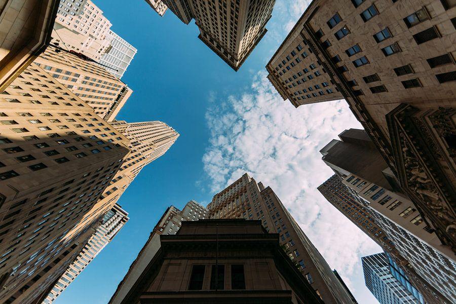 Skyscrapers van Maikel Claassen