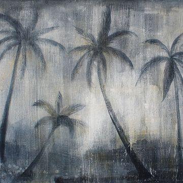 Tropical vibe II van Atelier Paint-Ing