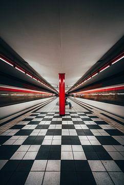 Hamburgs metrostation van Iman Azizi