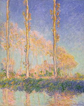 Pappeln, Claude Monet - 1891 von