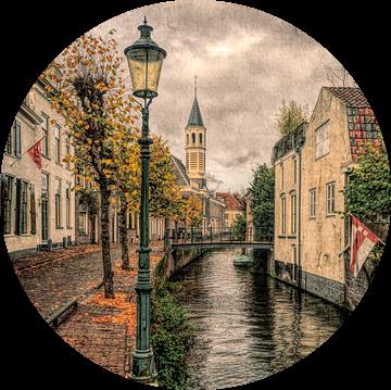 Lange Gracht historisch Amersfoort van Watze D. de Haan