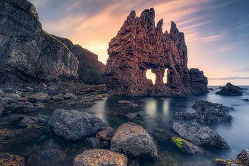 De Duivel in mij (Playa de Portizuelo, Asturië, Asturië, Spanje) van Dirk Wiemer