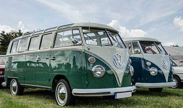 Volkswagen transporter bussen van Ans Bastiaanssen