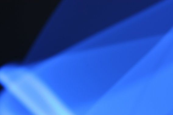 Blaues Licht (dunkel)
