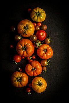 Tomatenoogst van Susan Lambeck