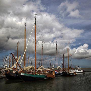 Jachthaven Schiermonnikoog van Jan Faber