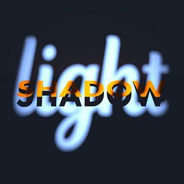 Licht en schaduw 2 van Jörg Hausmann