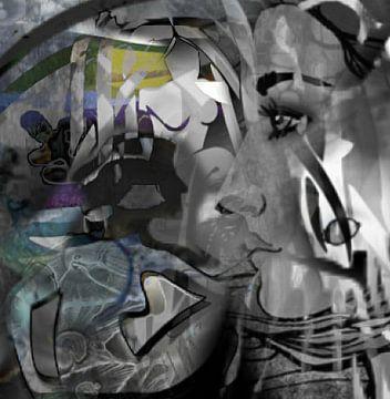 Konstellation Jungfrau von Kirsti's Kunst