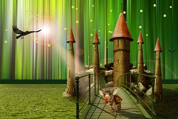 Het sprookjesachtige kasteel van de muizen van Monika Jüngling