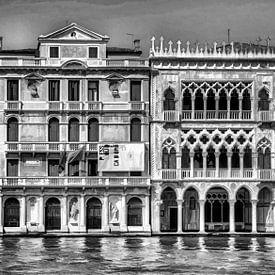 Venetie Italie Digitale kunst V van Watze D. de Haan