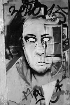 Spookstad Doel Graffiti von Jordy Severs