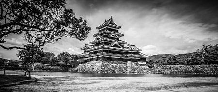 Matsumoto Castle, Japan von H Verdurmen