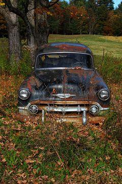 Rusty Old Chevrolet van