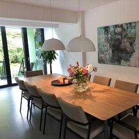Photo de nos clients: Angie green sur Atelier Paint-Ing