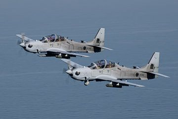 Armée de l'air libanaise A-29B Super Tucano sur Dirk Jan de Ridder