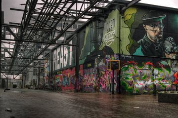 Graffiti stijl van Robert Prins