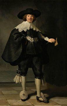 Marten Soolmans van Rembrandt van Rijn sur Marieke de Koning