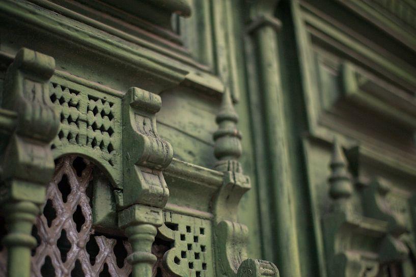 De deuren van Portugal detail. van Stefanie de Boer