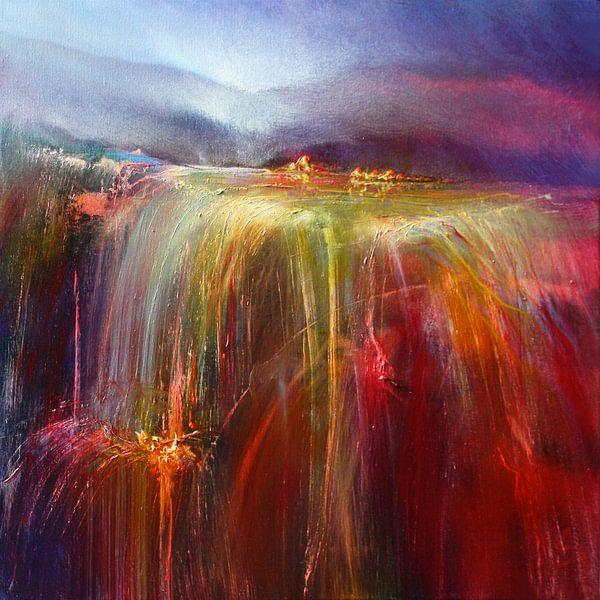 Abondance - la cascade d'or sur Annette Schmucker