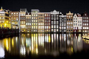 Damrak, Amsterdam van Brian Sweet