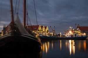 Haven van Oudeschild op Texel. Harbor of Oudeschild, Texel. von