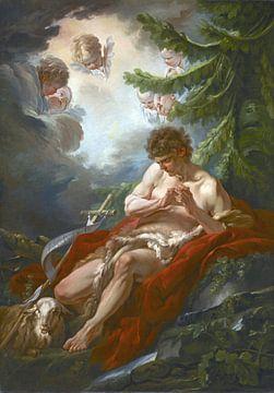 Johannes der Täufer, François Boucher, um 1755 von Atelier Liesjes