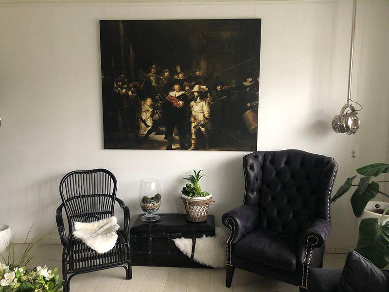 Kundenfoto: Die Nachtwache, Rembrandt van Rijn
