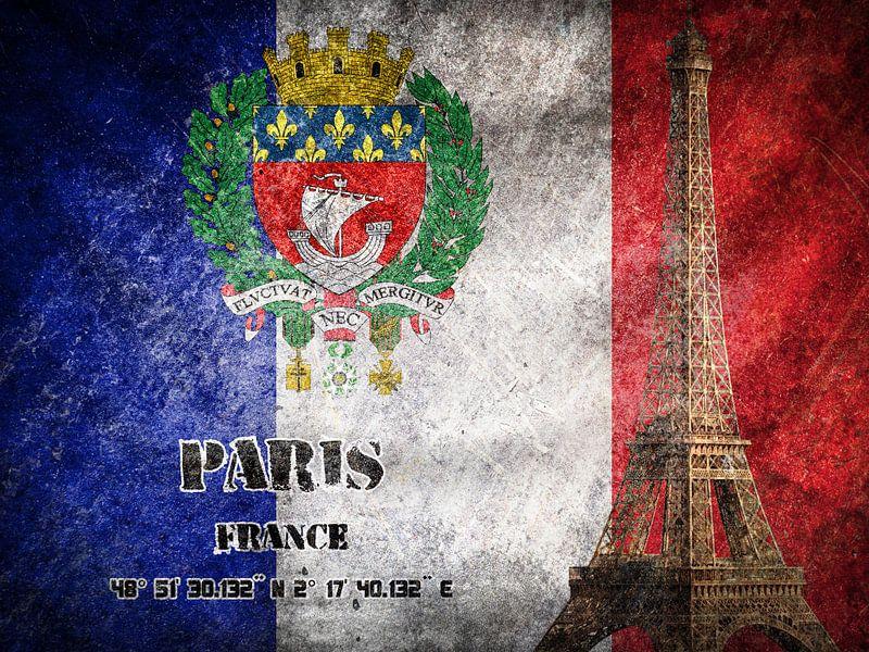 Paris von Printed Artings