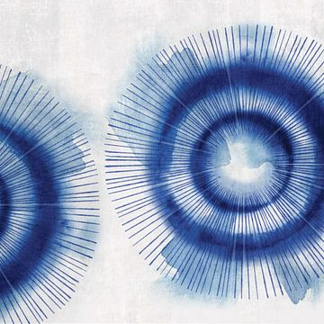 In de Blues II, Eva Watts  van PI Creative Art