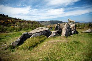 Giants' Graves bij Whiting Bay, Island of Arran (Schotland) van