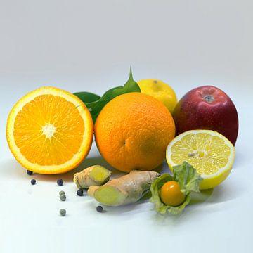 Vitaminen - Vierkant van Andreas Wemmje