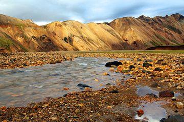 Landmannalaugar Iceland van Mathieu Denys