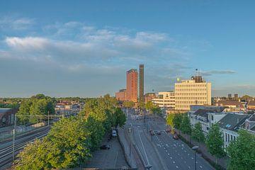 Interpolis Toren gezien vanaf Doloris Rooftop.