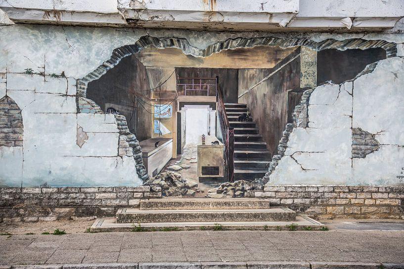 Graffiti van Anneke Hooijer