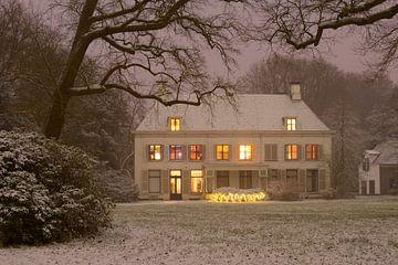 Landhuis Nieuw-Amelisweerd op het landgoed Amelisweerd
